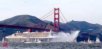 Queen Mary 2 visits SF