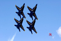 Blue Angels - Diamond Formation