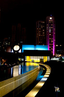Yerba Buena Gardens at Night