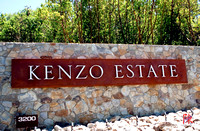 Kenzo Estate Winery Entrance Sign