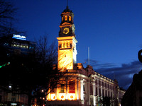 Auckland Town Hall  @ Night