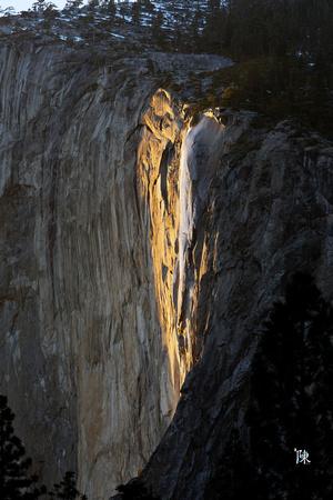 C Chin Studios: Yosemite &emdash; Golden Falls